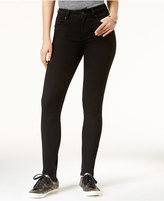 Rampage Juniors' Braided High-Rise Skinny Jeans