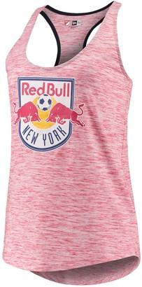 New Era Women's 5th & Ocean by Red New York Red Bulls Novelty Space Dye Jersey Racerback Tank Top