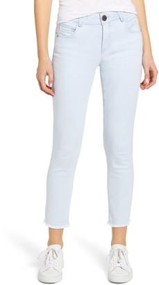 Wit & Wisdom Ab-Solution Fray Hem Ankle Skimmer Jeans