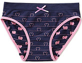 Copper Key Big Girls 7-16 Seamless Heart Outline Hipster Panty