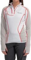 Marmot Thermo Polartec® Power Dry® Shirt - Zip Neck, Long Sleeve (For Women)