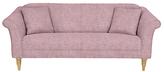 John Lewis Molly Small 2 Seater Sofa, Light Leg, Parker Rose