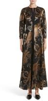 Lafayette 148 New York Women's Cadenza Renaissance Paisley Devore Dress