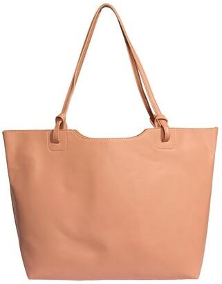 Pixie Mood HEA120-TB-04 Heather Double Handle Pink Tote Bag