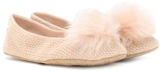 UGG Andi cotton knit slippers