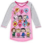 Komar Kids Little/Big Girls 4-16 Classic Peanuts Nightgown