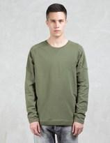 Denham Jeans Carver Gusset Sweatshirt