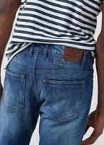 MANGO MAN Slim-Fit Medium Wash Steve Jeans