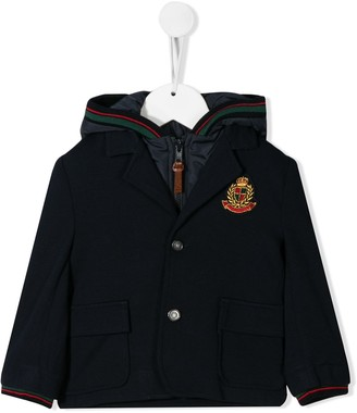 Lapin House front patch jacket