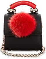 Les Petits Joueurs Nano Alex Bunny Charm for Handbag, Black/Red