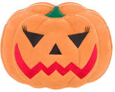 Charlotte Olympia Suede Boo! Pumpkin Clutch
