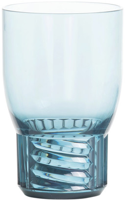 Kartell Trama Water Glass - Light Blue