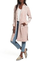 BP Women's Velour Duster