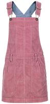 Fat Face Girls' Cord Dungaree Dress, Rose