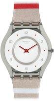 Swatch Women's SFM131 Skin Swiss Quartz Watch With Multi-Color Band