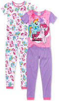 My Little Pony 4-Pc. So Rad Cotton Pajama Set, Little Girls (2-6X) & Big Girls (7-16)