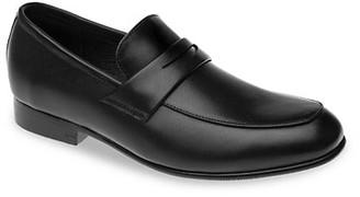 Venettini Boy's Leather Slip-On Dress Shoes
