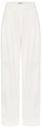Esse Studios High Waisted Tailored Front Pleat Trouser