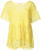 P.A.R.O.S.H. lace blouse - women - Polyester - XS