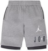 Jordan Boys Layered Jumpman Athletic Sweat Shorts L