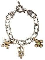 Konstantino Two-Tone Multistone Charm Bracelet