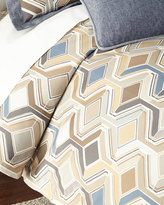 Sweet Dreams Queen Maze Geometric Duvet Cover