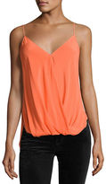 Bailey 44 Falafel V-Neck Silk Camisole Top
