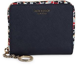 Kate Spade Logo Zip-Around Wallet