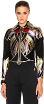Givenchy Suede Embroidered Patchwork Jacket