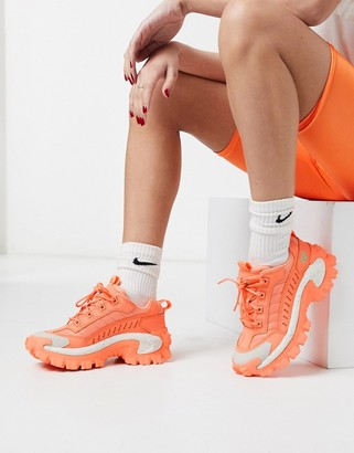 CAT Footwear CAT Intruder chunky trainers in coral
