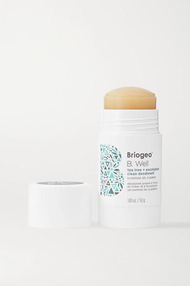 BRIOGEO B. Well Tea Tree And Eucalyptus Clean Deodorant, 52g - one size