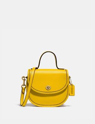 Coach Mini Top Handle Saddle Bag