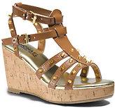 Michael Kors Girls Kay Studded Wedge Sandal Big Kid