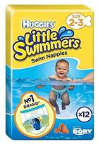 Huggies Little Swimmers Size 2-3 12 per pack - Pack of 4