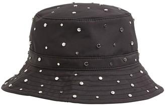 Ganni Studded Nylon Bucket Hat