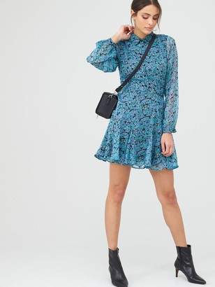Very Woven Shirt Dress Ditsy Floral