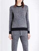 Joseph Chevron-knit wool jumper