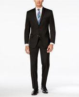 Andrew Marc Men's Classic Fit Black Suit