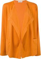 Le Tricot Perugia classic blazer - women - Cotton - XL