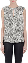 L'Agence WOMEN'S ABELLA SILK SLEEVELESS BLOUSE