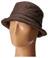Scala Quilted Rain Bucket Hat w/ Fleece Lining