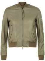 AllSaints Avalon Leather Bomber Jacket