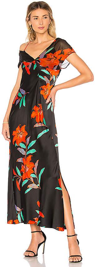 Diane von Furstenberg Knotted Gown