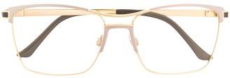 Cazal 4273 Square-Frame Logo Glasses