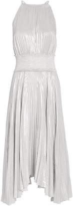 A.L.C. Weston Pleated Lame Dress
