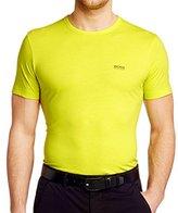HUGO BOSS Mens Short Sleeve Tee Cotton Jersey T-shirt By Boss Green
