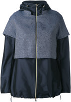 Herno layered hooded jacket - women - Polyester - 42