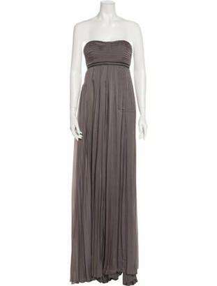 Prada 2007 Long Dress Grey