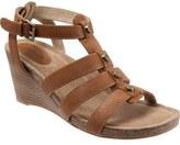 SoftWalk 'Jacksonville' Leather Wedge Sandal (Women)