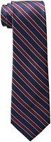 Haggar Men's Big-Tall Stripe Extra Long Necktie